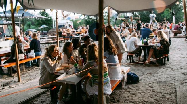 Toch een foodtruck festival in Gouda