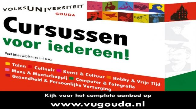 Open Avond Volksuniversiteit Gouda